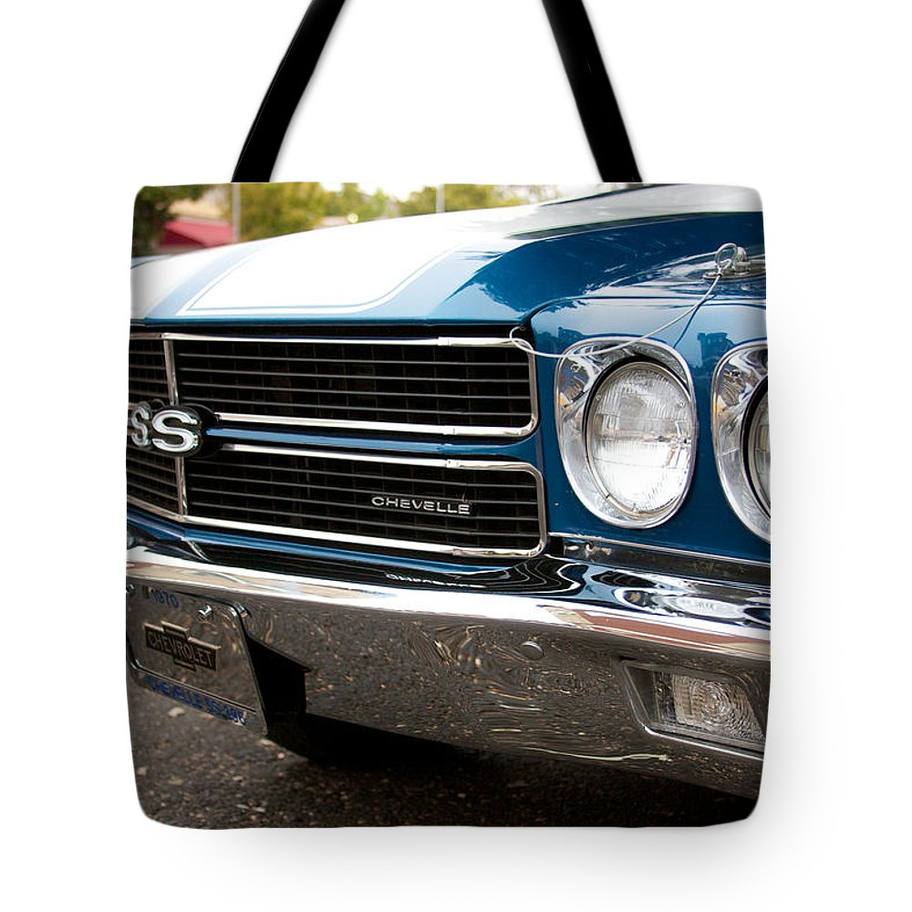 1970 Chevrolet Chevelle Ss Front End Tote Bag