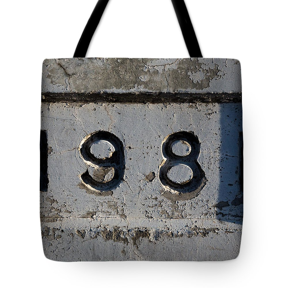 1981 Tote Bag featuring the photograph 1981 by John Daly