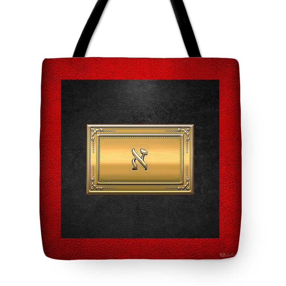 'ancient Brotherhoods' Collection By Serge Averbukh Tote Bag featuring the digital art 19th Degree Mason - Grand Pontiff Masonic Jewel by Serge Averbukh