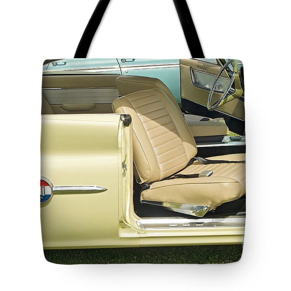 1960 Chrysler 300-f Muscle Car Tote Bag featuring the photograph 1960 Chrysler 300-f Muscle Car by David Zanzinger