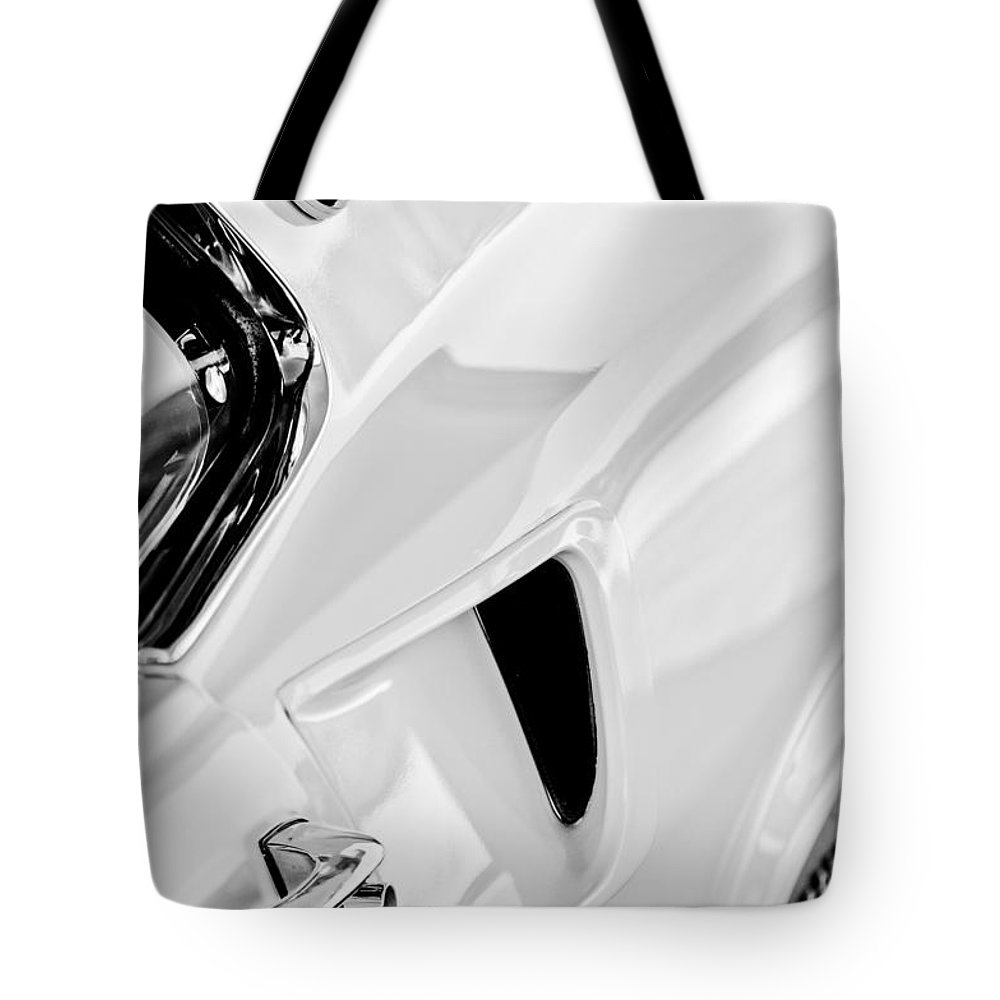 1969 Ford Mustang Boss 429 Emblem Tote Bag featuring the photograph 1969 Ford Mustang Boss 429 Emblem by Jill Reger