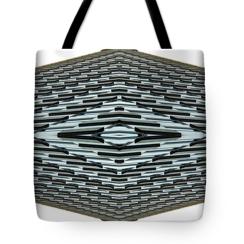Original Tote Bag featuring the photograph Abstract Buildings 2 by J D Owen