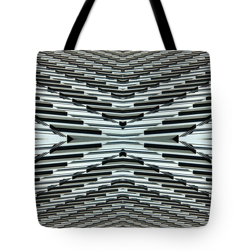 Original Tote Bag featuring the photograph Abstract Buildings 5 by J D Owen