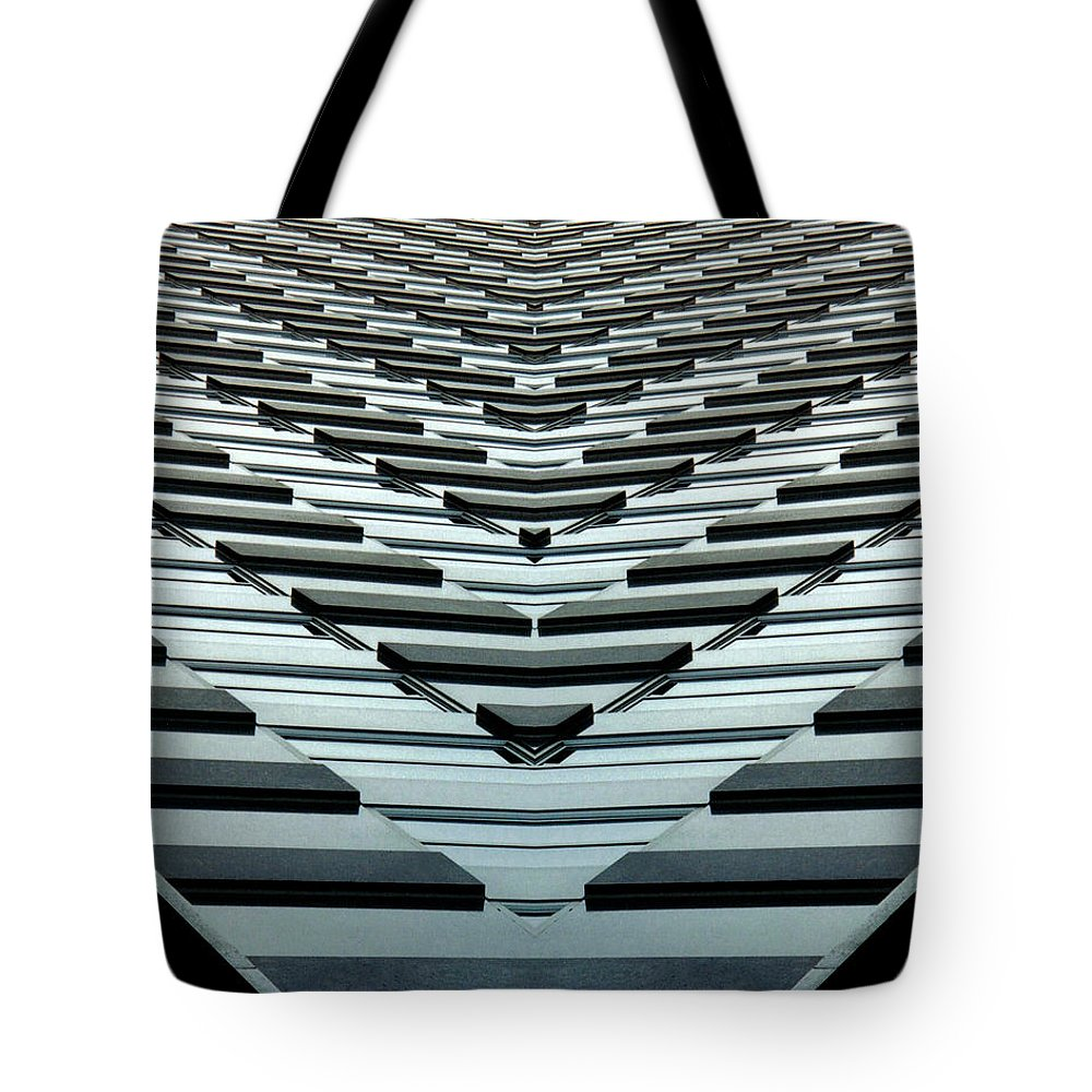 Original Tote Bag featuring the photograph Abstract Buildings 7 by J D Owen
