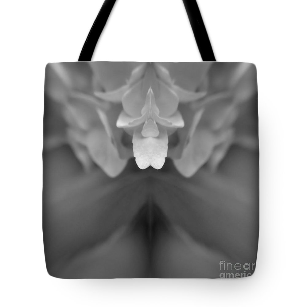 Abstract Tote Bag featuring the photograph Abstract Flower by Chet B Simpson