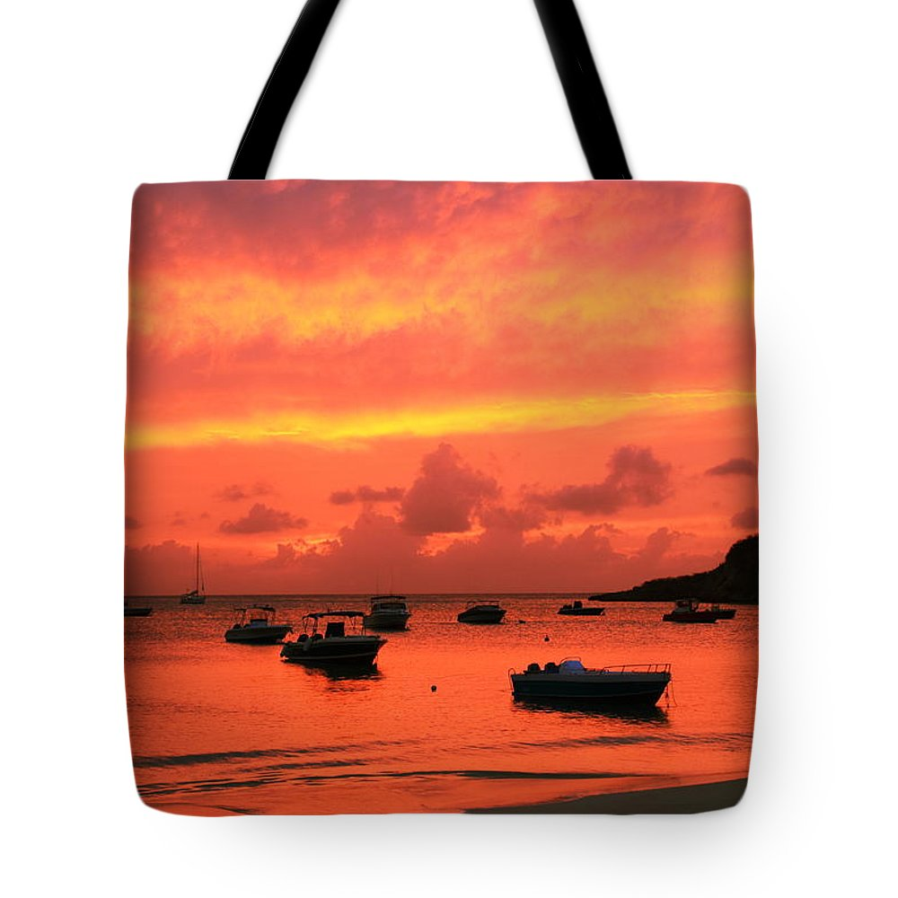 After Sunset Tote Bag featuring the photograph After Sunset by Roupen Baker