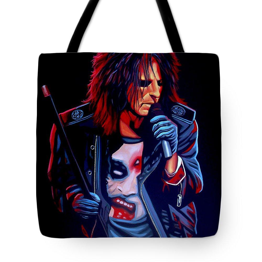 Alice Cooper Tote Bags