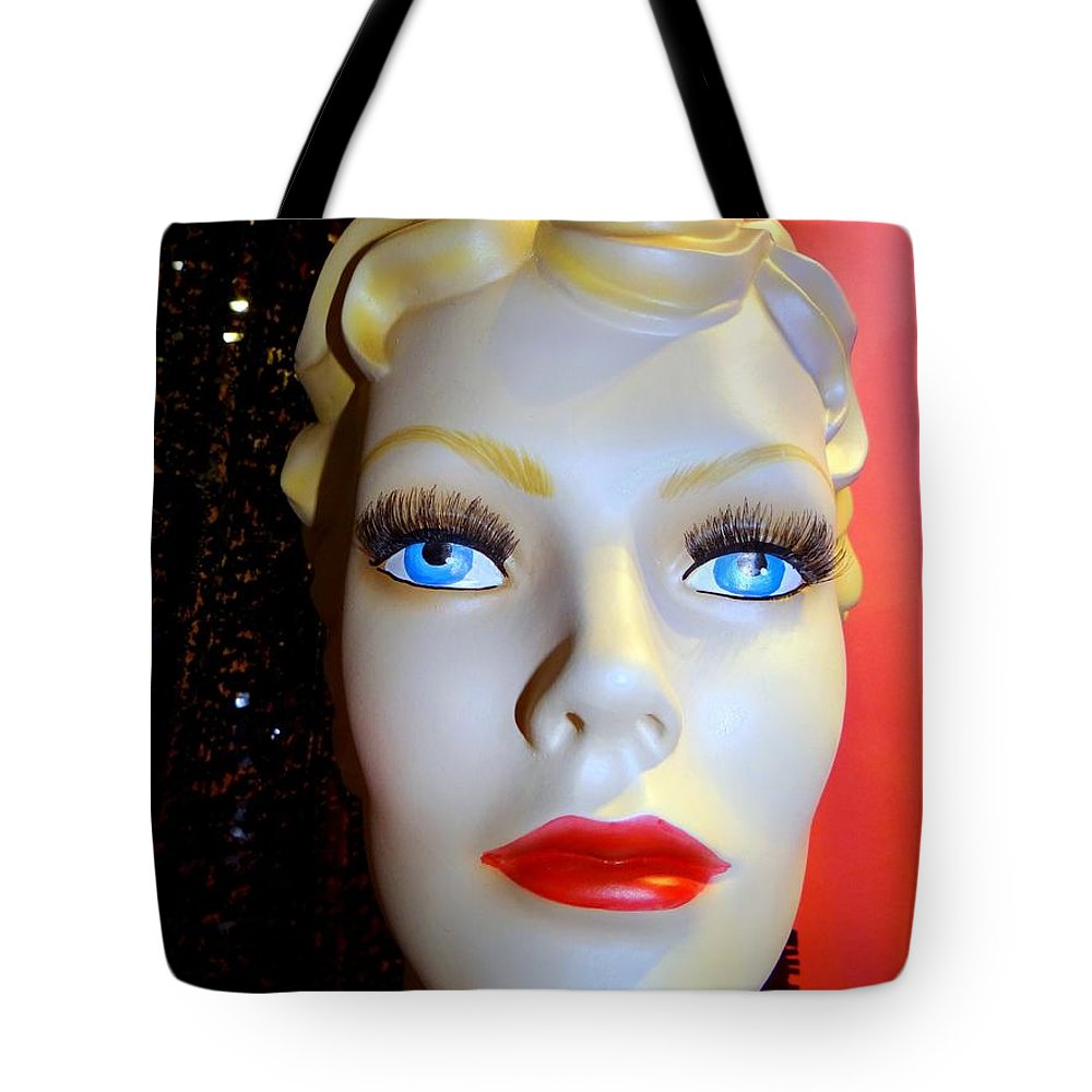 Mannequins Tote Bag featuring the photograph Baby Blues by Ed Weidman