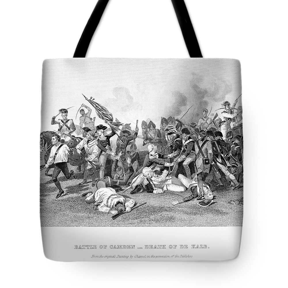 1780 Tote Bag featuring the photograph Battle Of Camden, 1780 by Granger