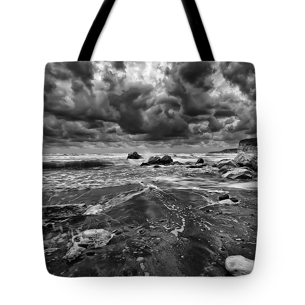 Beach Tote Bag featuring the photograph Beach 14 by Ingrid Smith-Johnsen