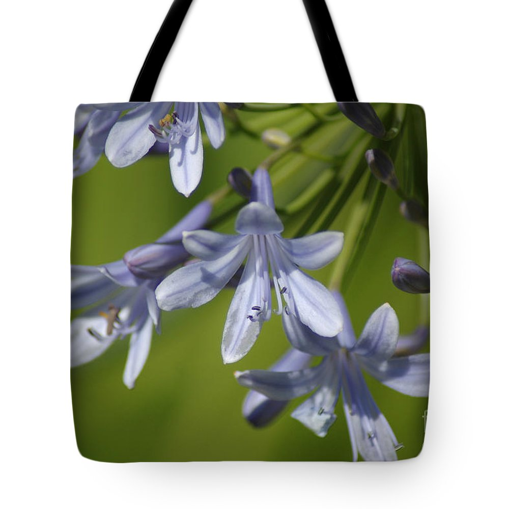 Floral Tote Bag featuring the photograph Blue Heaven by Donna Bentley
