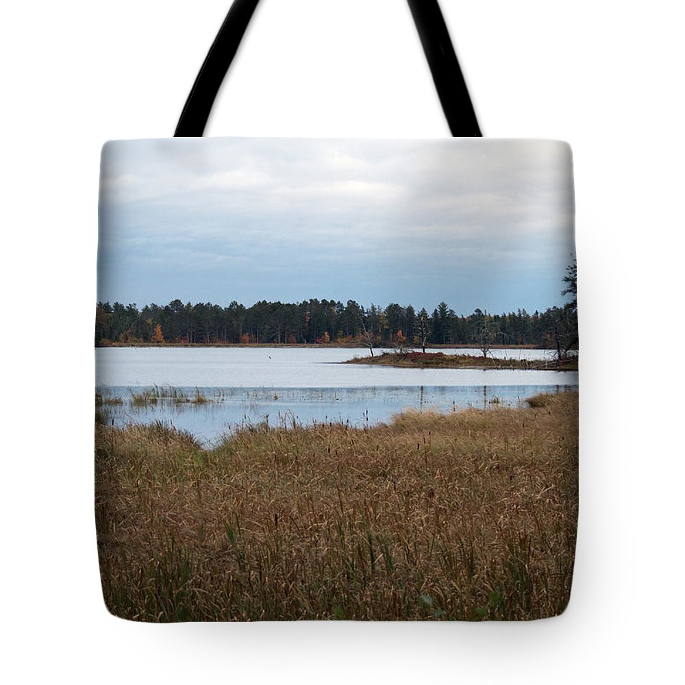 Nature Tote Bag featuring the photograph Calm Water by Linda Kerkau