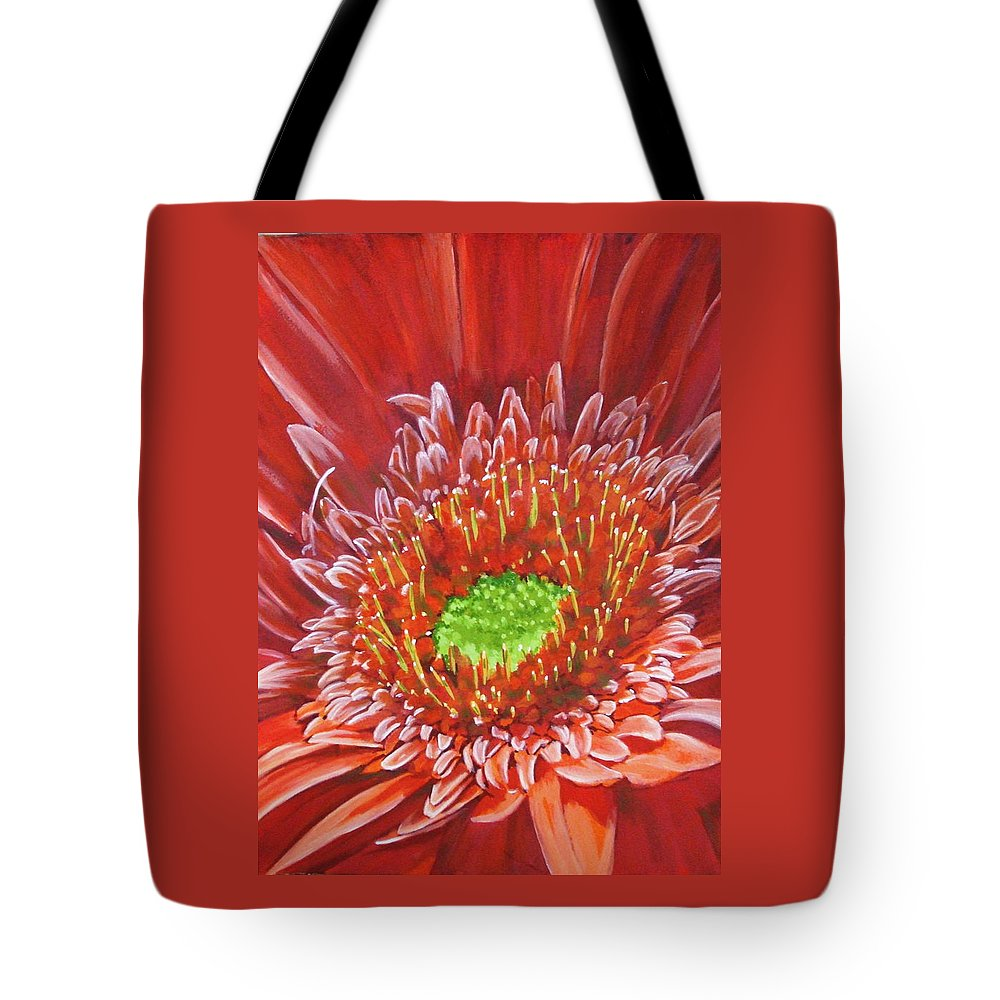 Flower Tote Bag featuring the painting Cameo by Barbara Keith