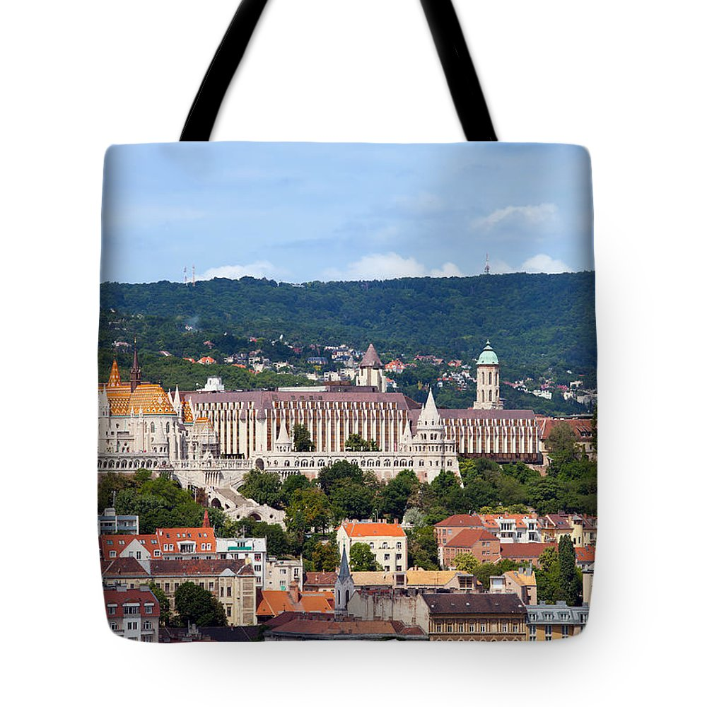 Budapest Tote Bag featuring the photograph City Of Budapest by Artur Bogacki