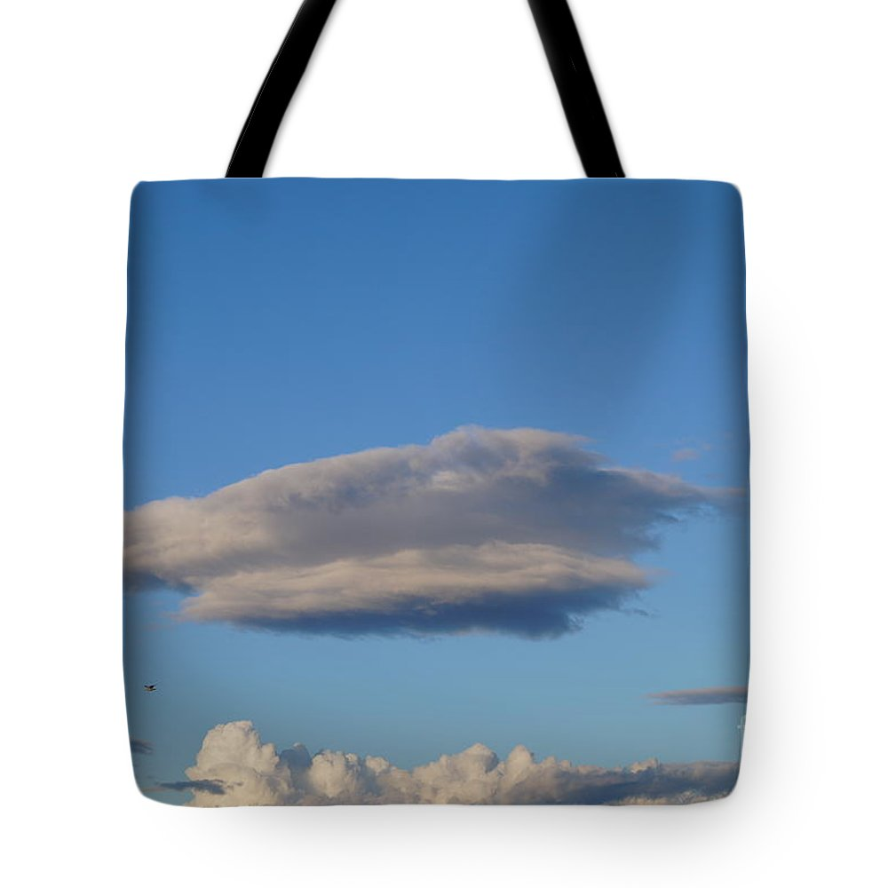 Low Clouds Tote Bag featuring the photograph Clouds by Jeffery L Bowers
