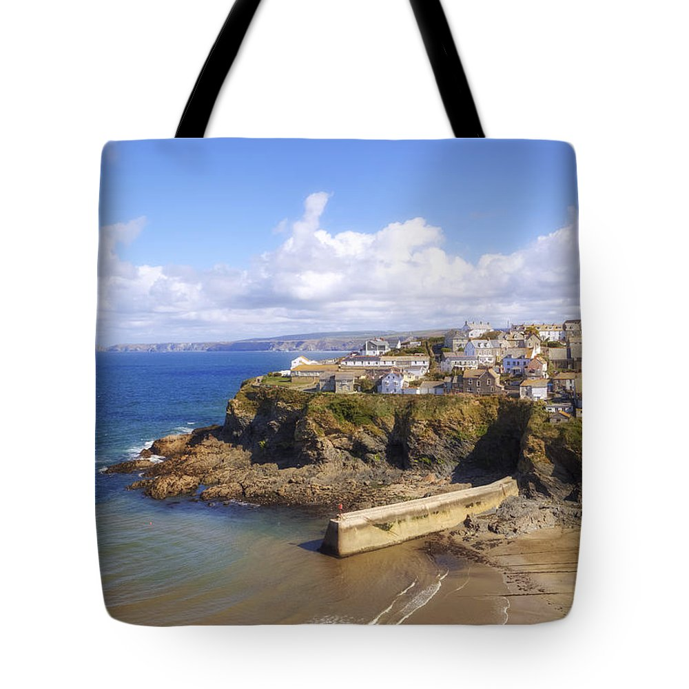 Cornwall Tote Bag featuring the photograph Cornwall - Port Isaac by Joana Kruse