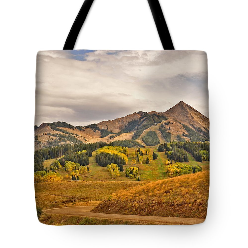 Crested Butte Tote Bag featuring the photograph Crested Butte Autumn by Kelly Black