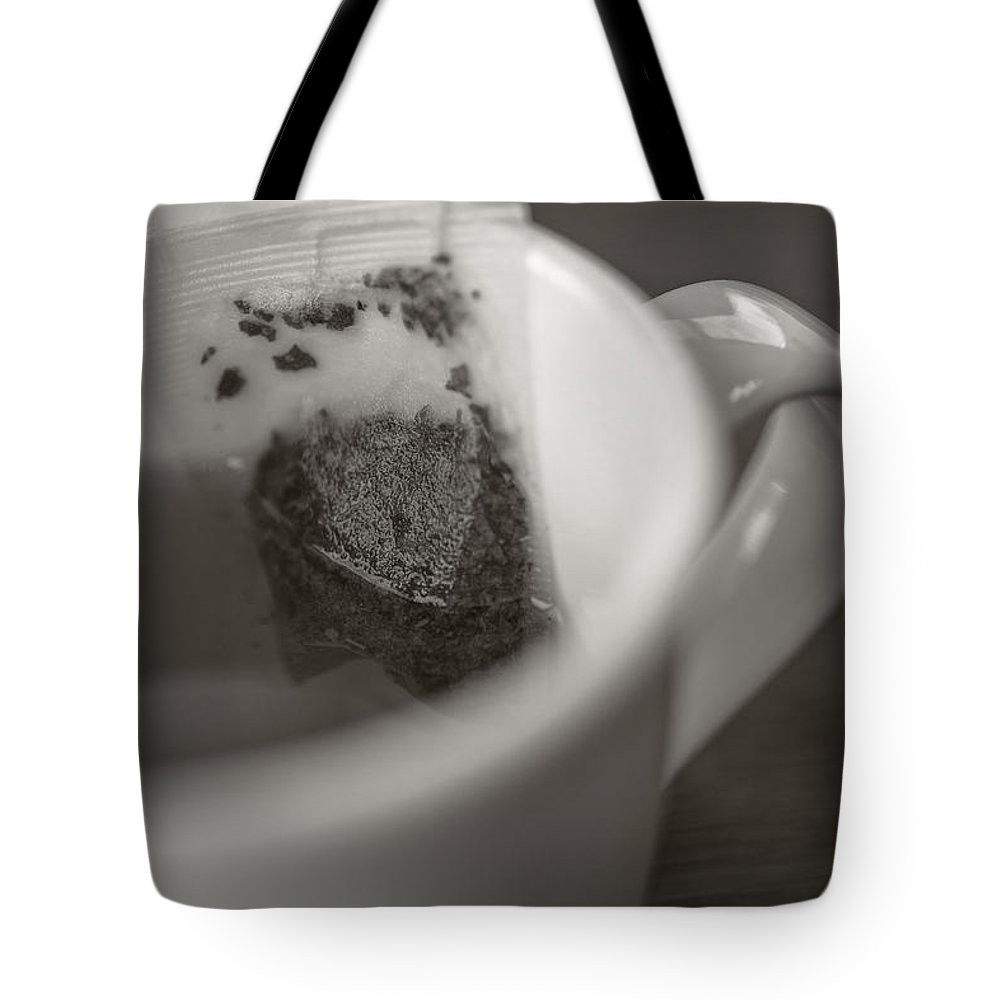 Cafe Tote Bag featuring the photograph Cup Of Tea by Edward Fielding