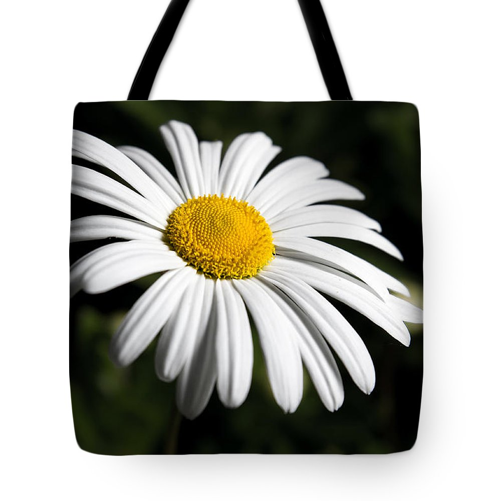 Flower Tote Bag featuring the photograph Daisy In The Garden by Ron Pate