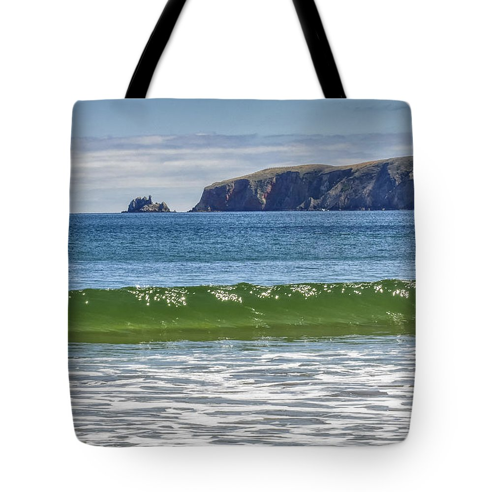 California Lighthouse Tote Bag featuring the photograph Drakes Bay by Gej Jones