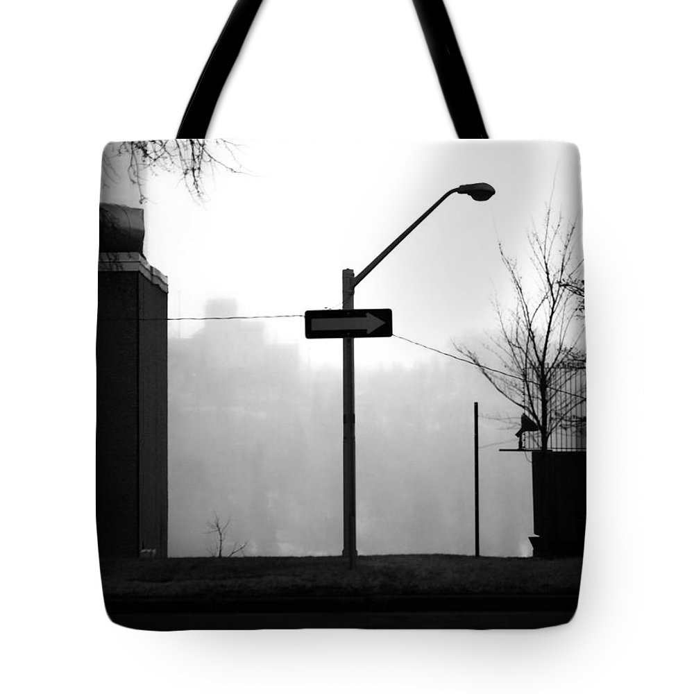 Street Photography Tote Bag featuring the photograph East Wind by The Artist Project
