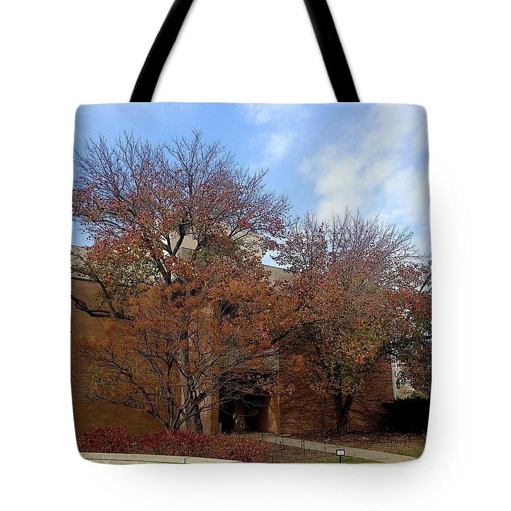 Entrance Tote Bag featuring the photograph Entrance by Joseph Yarbrough