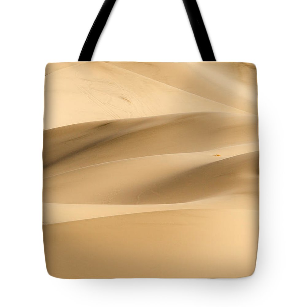 Death Valley Tote Bag featuring the photograph Eureka Dune by Jean Noren
