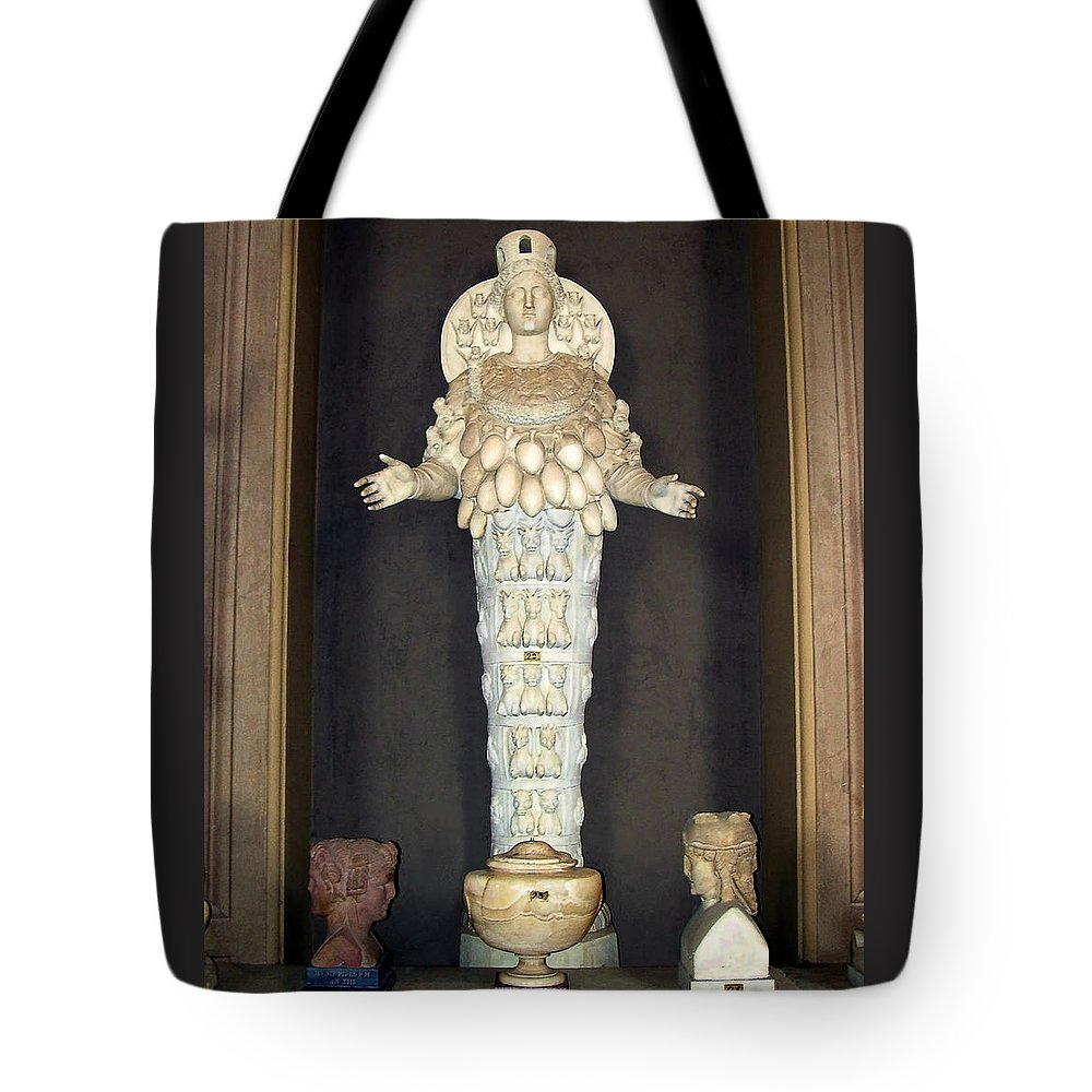 Diana Of Ephesus Tote Bag featuring the photograph Diana Of Ephesus by Ellen Henneke