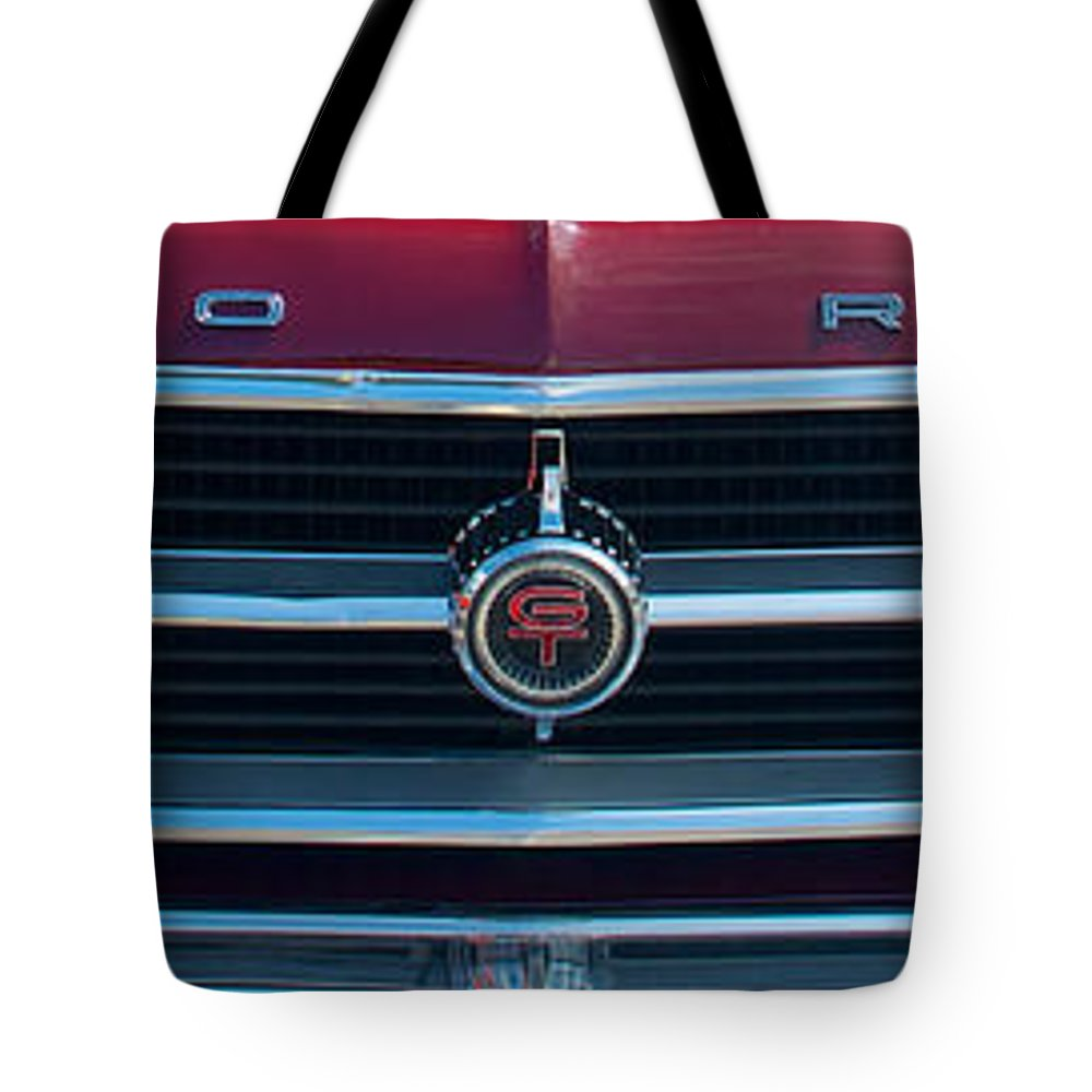 Car Tote Bag featuring the photograph Ford Fairlane by Mark Dodd