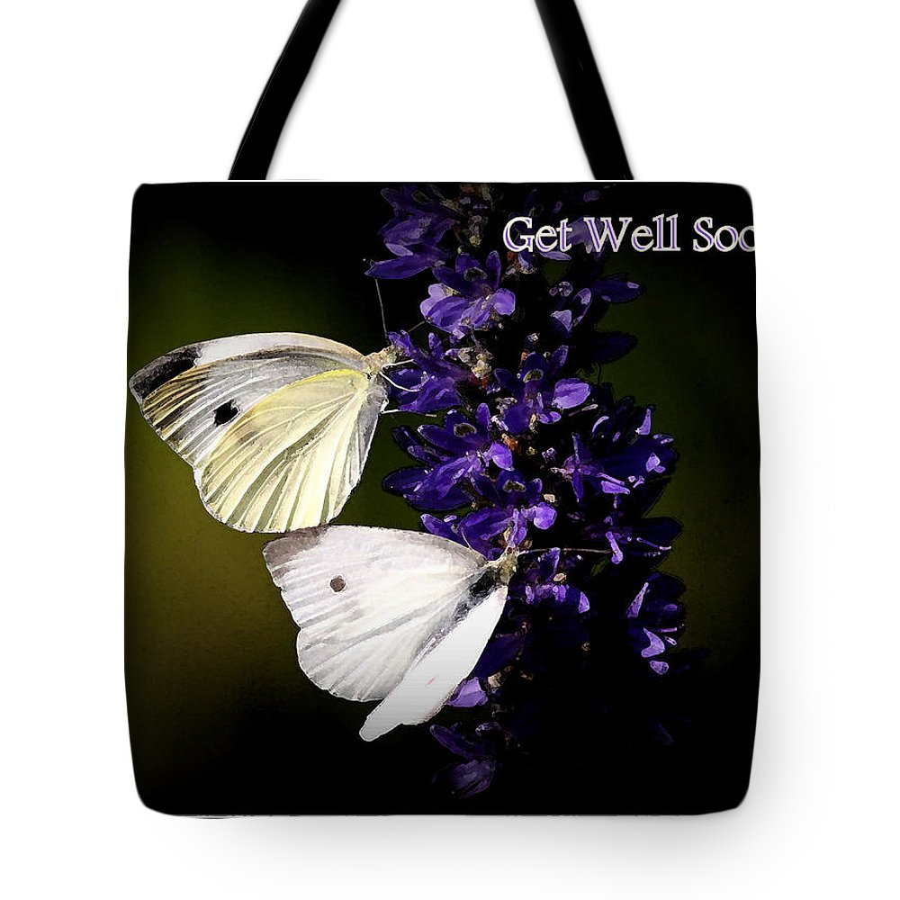 Get Well Soon Tote Bag featuring the photograph Get Well Soon by Travis Truelove