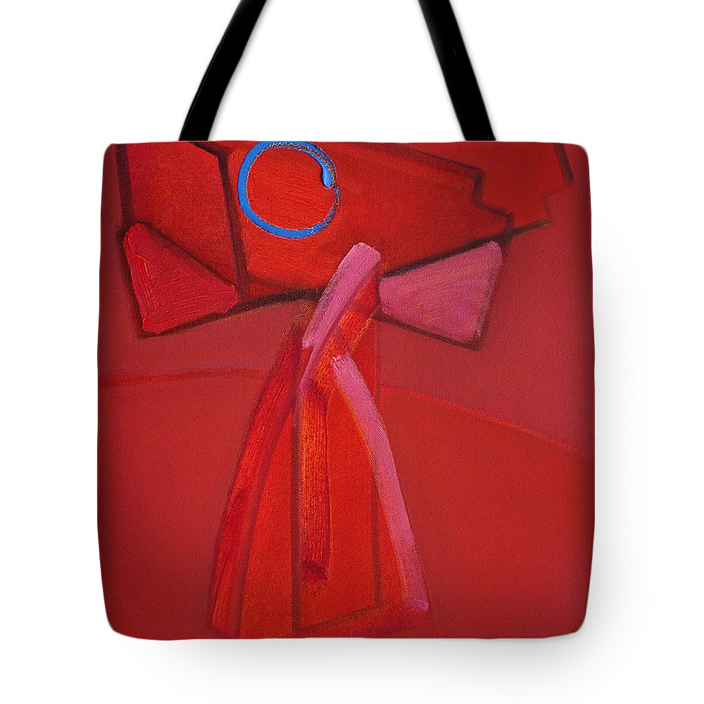 Pooch Tote Bag featuring the painting Hot Dog by Charles Stuart