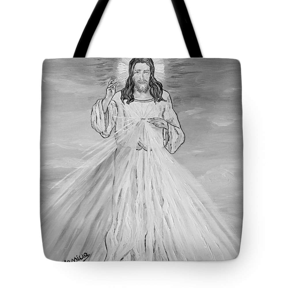 Drawing Tote Bag featuring the painting L'amore by Loredana Messina