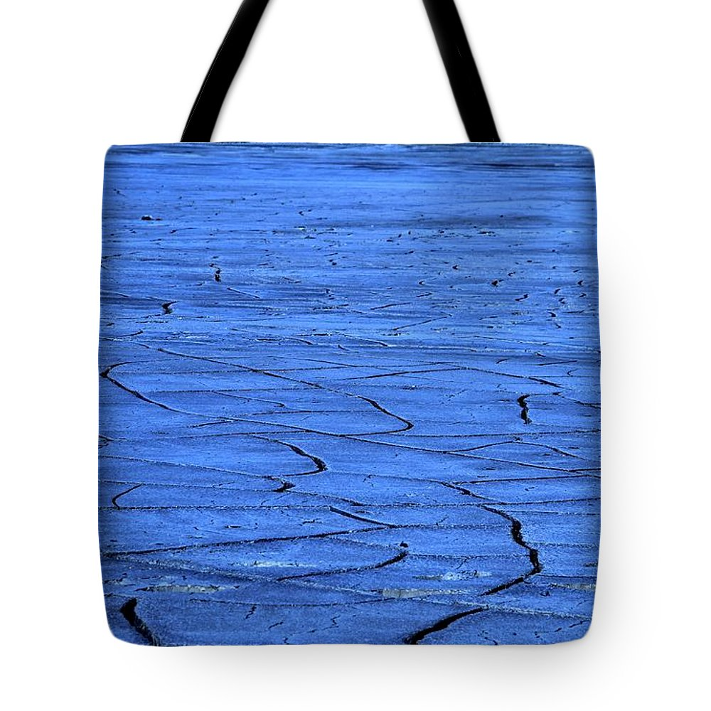 Lines Tote Bag featuring the photograph Lines by Dan Sproul