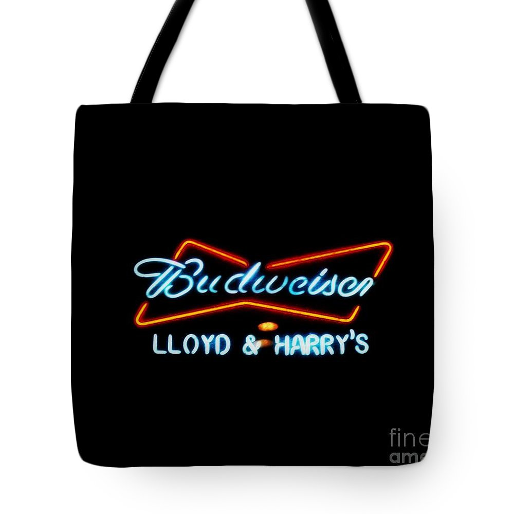 Tote Bag featuring the photograph Lloyd And Harry's by Kelly Awad