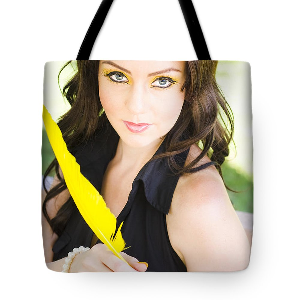 Caucasian Tote Bag featuring the photograph Love Letter by Jorgo Photography - Wall Art Gallery
