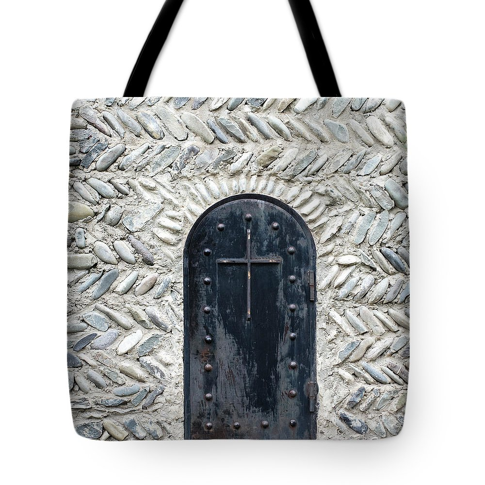 Arch Tote Bag featuring the photograph Medieval Door by ????? ???????