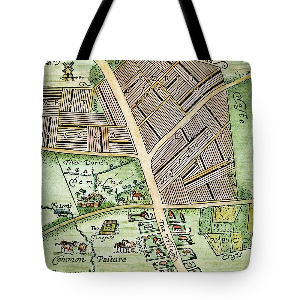 England Tote Bag featuring the photograph Medieval English Manor by Granger