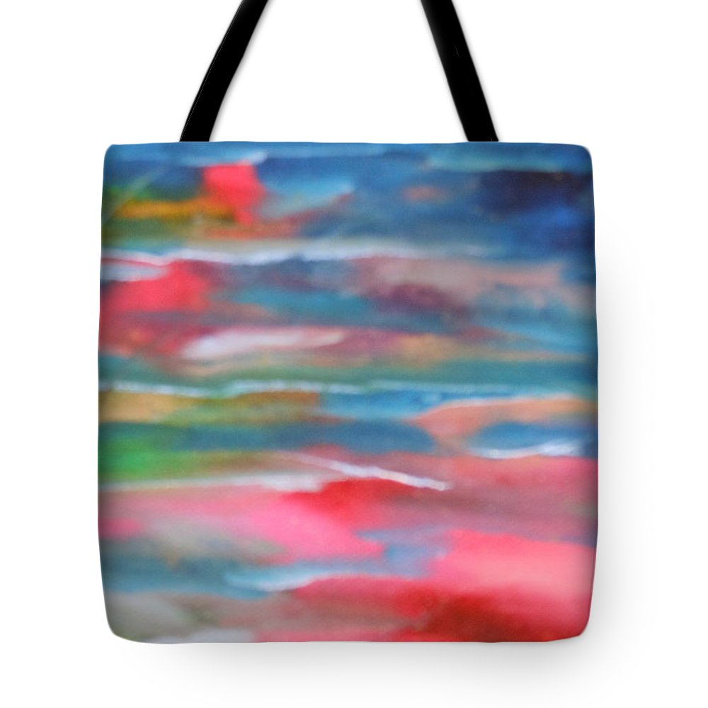 Water Tote Bag featuring the painting Morning by Lord Frederick Lyle Morris - Disabled Veteran