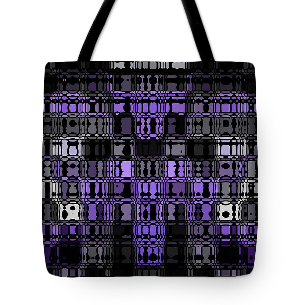 Original Tote Bag featuring the painting Motility Series 17 by J D Owen