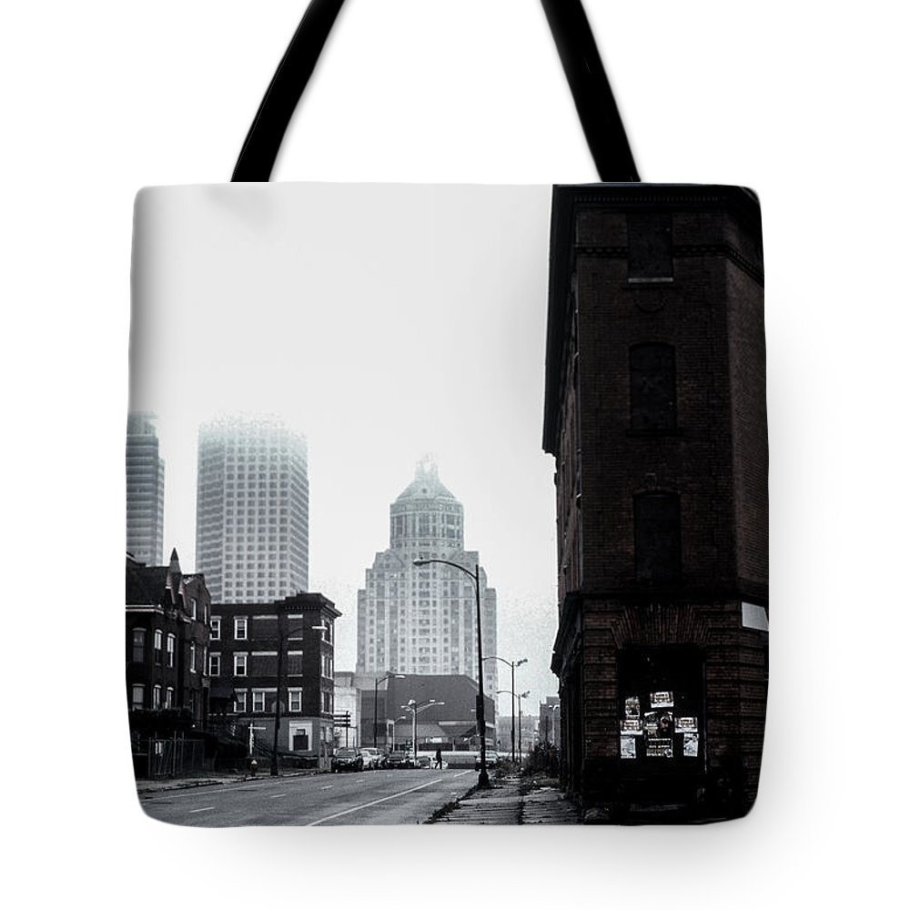 Old Hartford Tote Bag featuring the photograph Old Hartford by Gregory Alan