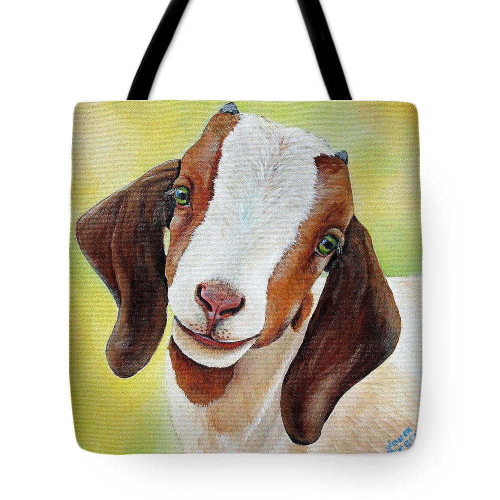 Baby Goat Tote Bags