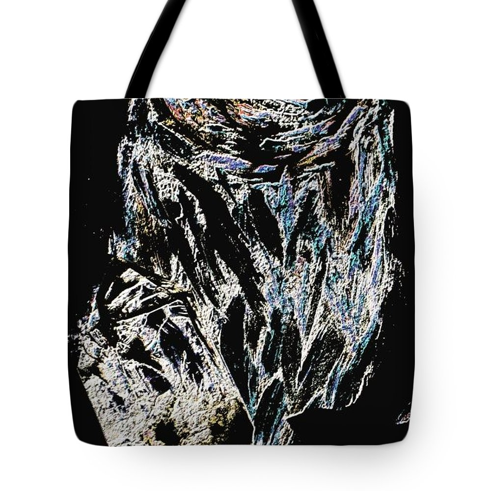 Owl Tote Bag featuring the painting Owl by Owl's View Studio
