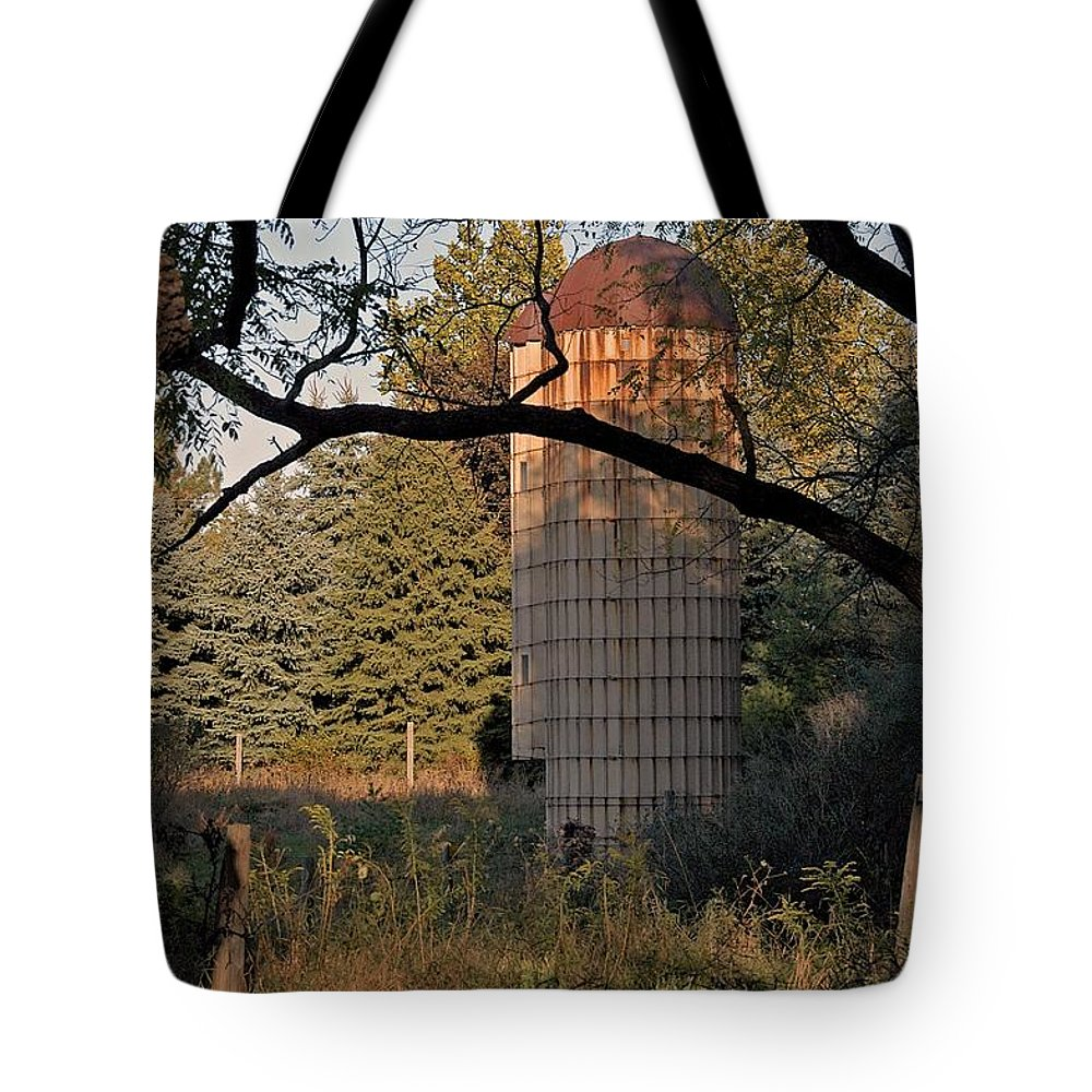Rust Tote Bag featuring the photograph Past by Joseph Yarbrough