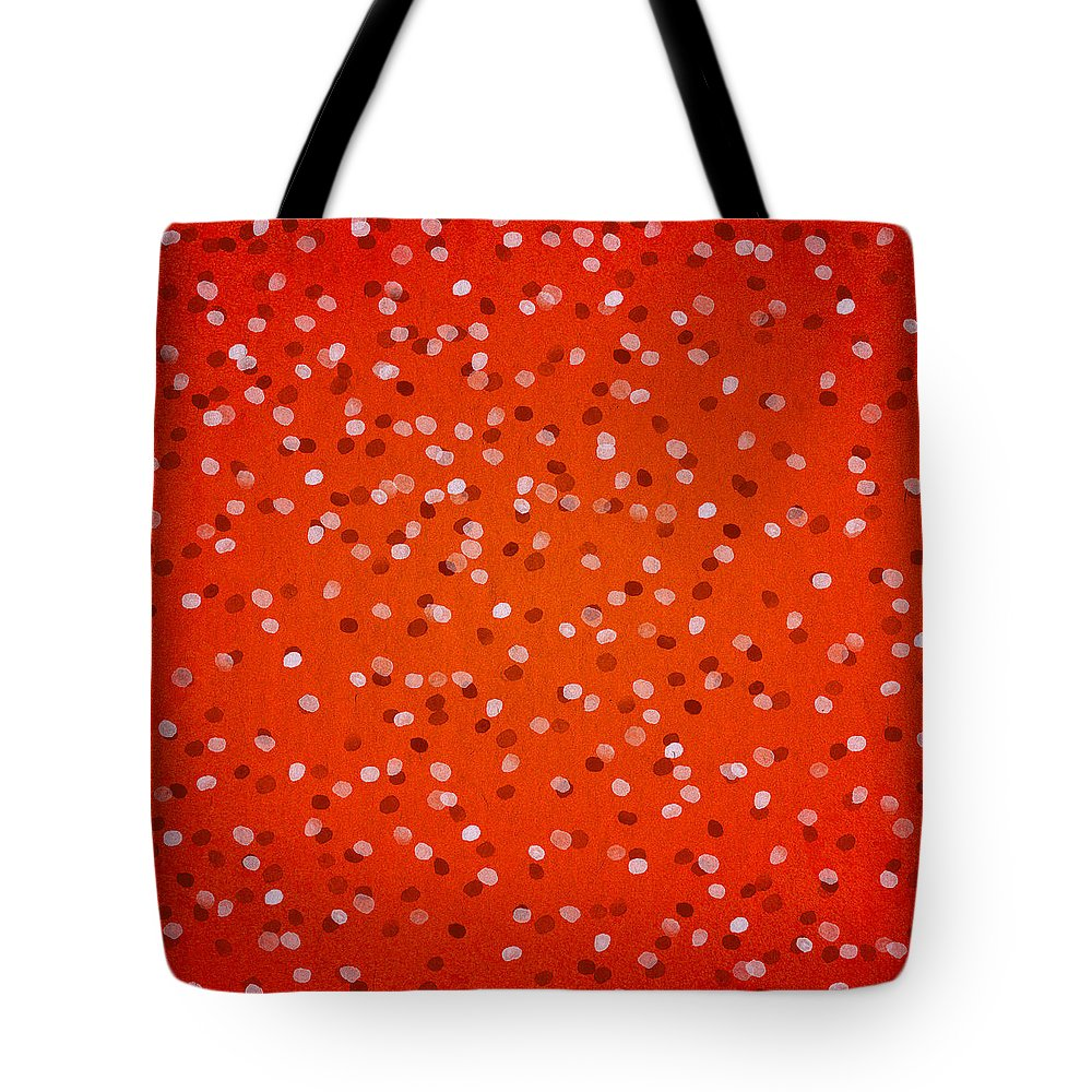 Contemporary Art Tote Bag featuring the digital art Petals by Aged Pixel