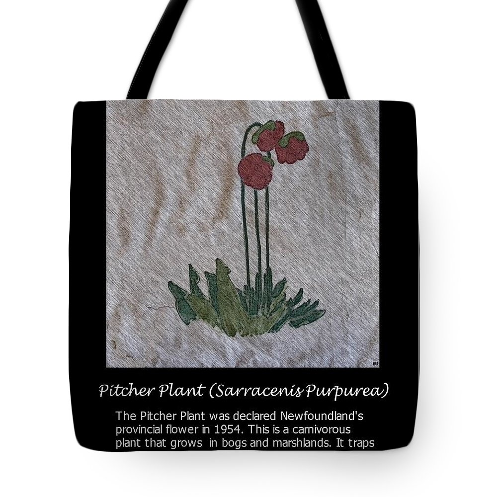 Pitcher Plant Tote Bag featuring the photograph Pitcher Plant by Barbara Griffin