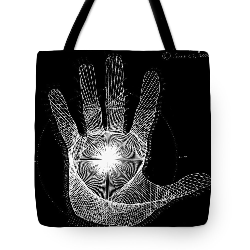 Triangle Drawings Tote Bags
