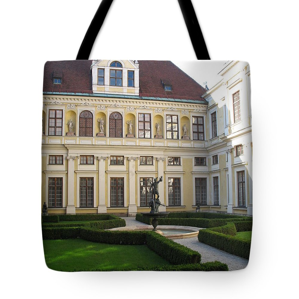 Residence Tote Bag featuring the photograph Residence Munich by Christiane Schulze Art And Photography