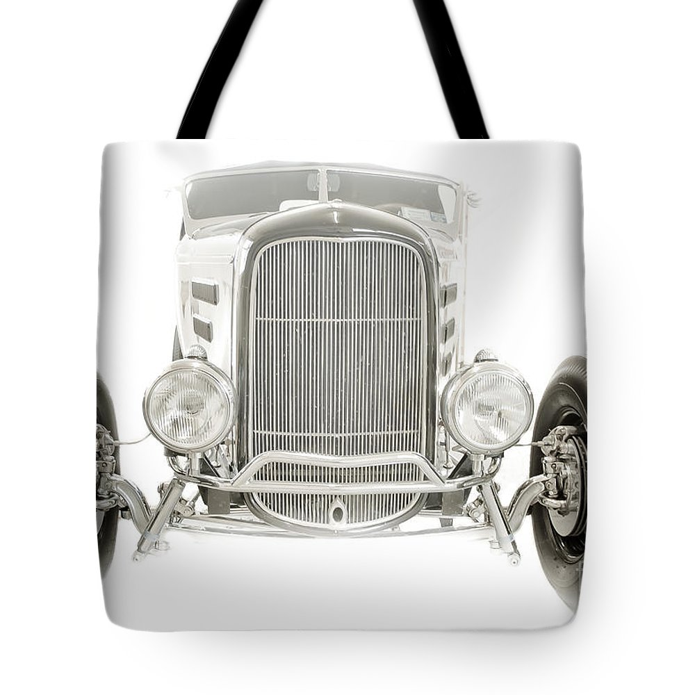 Classic Car Tote Bag featuring the photograph Roadster by Ken Marsh