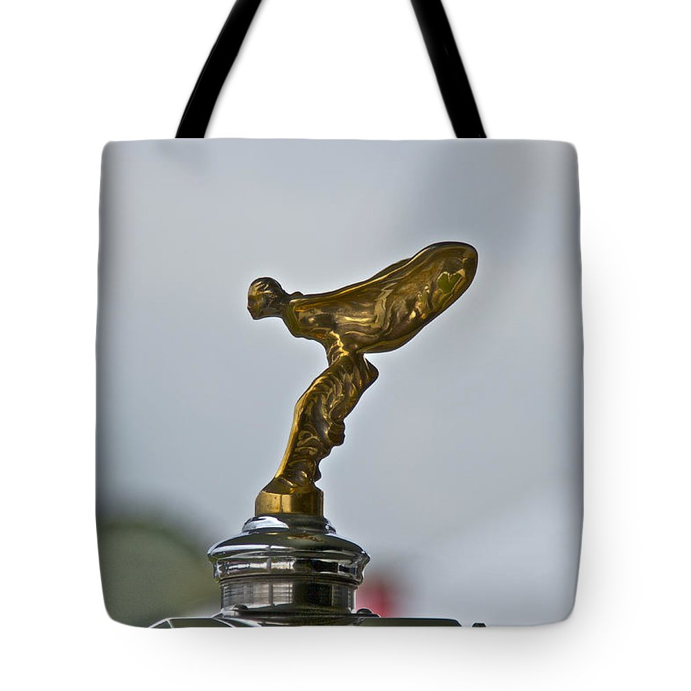 Glenmoor Tote Bag featuring the photograph Rolls Royce by Jack R Perry