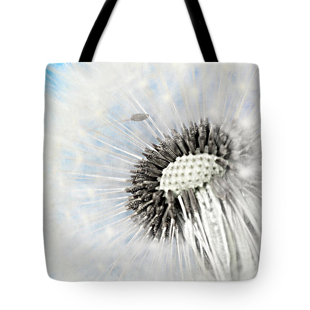 Drops Tote Bag featuring the mixed media Spring Feelings by Heike Hultsch